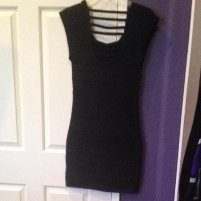 Forever 21 short dress Black Metallic on Tradesy