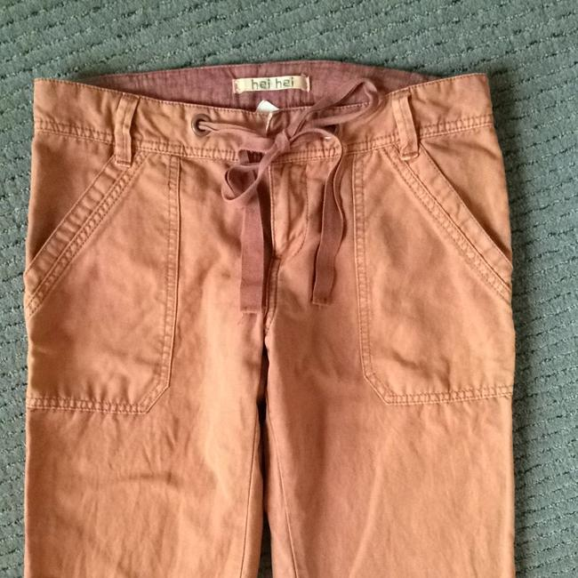 Anthropologie Boyfriend Relaxed Pants Clay