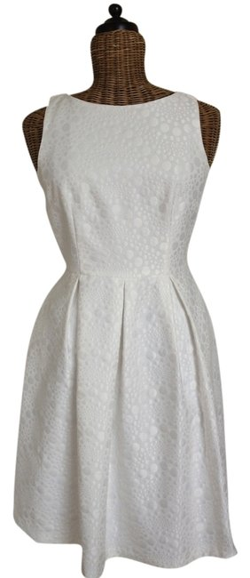 Preload https://item3.tradesy.com/images/david-meister-white-knee-length-night-out-dress-size-4-s-1123927-0-0.jpg?width=400&height=650