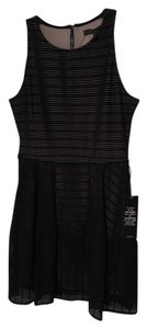 BCBGMAXAZRIA short dress Black Cassandra Eyelet on Tradesy