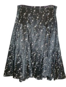Betsey Johnson Skirt black with silver threads