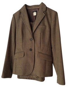 J.Crew Herringbone Stripped Wool Suit