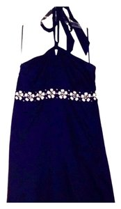Ann Taylor LOFT short dress Blue on Tradesy