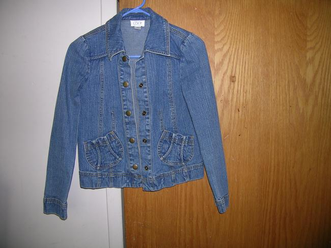 Ann Taylor LOFT Medium Wash Womens Jean Jacket