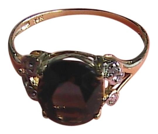 Preload https://item3.tradesy.com/images/yellow-gold-10k-solid-21-cts-smokey-topaz-and-diamond-ring-1124217-0-0.jpg?width=440&height=440