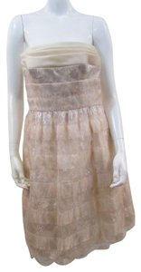 Carmen Marc Valvo Lace Dress