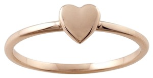 Other Designer 14K Rose Gold Stackable Ring with Heart Accent by BrianG @ BrianGdesigns
