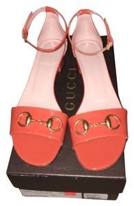 Gucci New Rust/Orange Sandals
