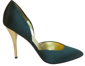 Escada Green Pumps