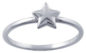 Other Designer 14K White Gold Stackable Ring with Star Accent by BrianG @ BrianGdesigns