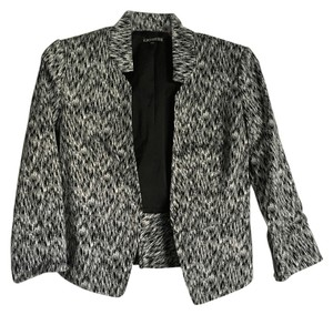 Express Black with White Blazer