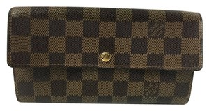 Louis Vuitton Louis Vuitton Sarah Wallet Damier Ebene