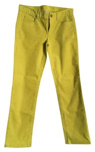 J.Crew Boot Cut Pants Citron