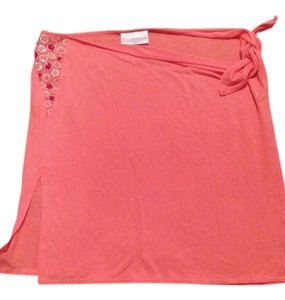 La Perla Mini Skirt coral