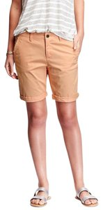 Old Navy Bermuda Peach Size 16 Cotton Mini/Short Shorts Orange
