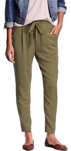 Old Navy High-rise Asparagus Trouser Pants Green
