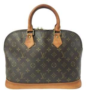 Louis Vuitton Alma Monogram Speedy Hobo Bag