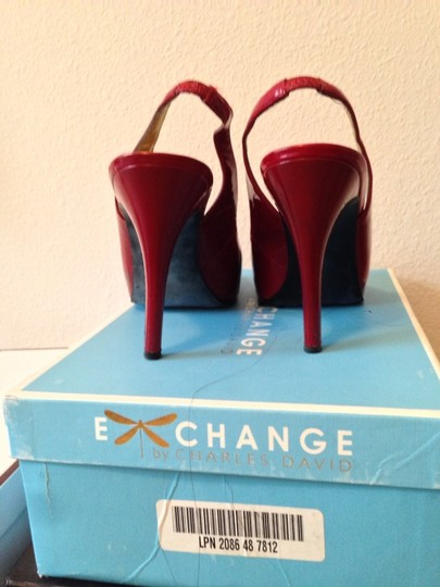 Guess Red Patent Pumps