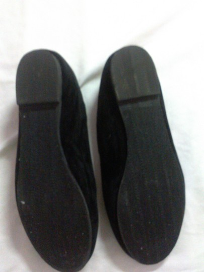 Other Comfortable Velvet black Flats