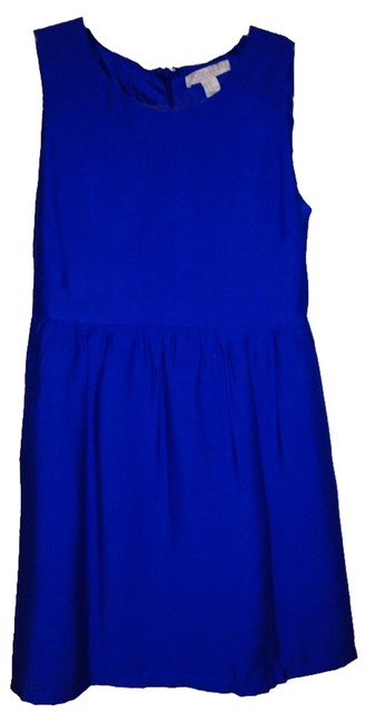 Preload https://item4.tradesy.com/images/forever-21-blue-workoffice-dress-size-6-s-1124863-0-0.jpg?width=400&height=650
