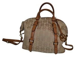 Michael Kors Satchel in Khaki beige