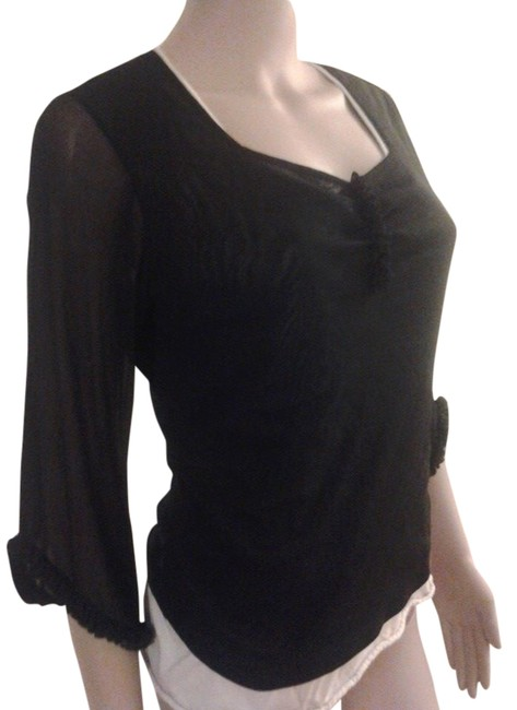 The Limited Sexy Sheer Medium Top black