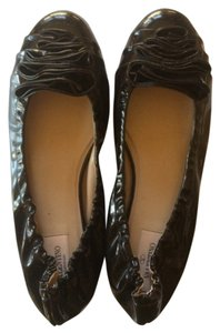 Valentino Black Patent Leather Flats