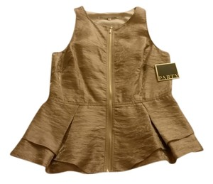 Rachel Roy Top golden