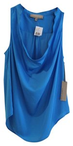 Curren Affair Going Sexy Cowlneck Top blue