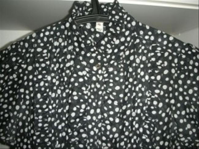 Joie Top Black / White