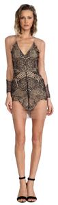 For Love & Lemons Lace Sheer Date Dress