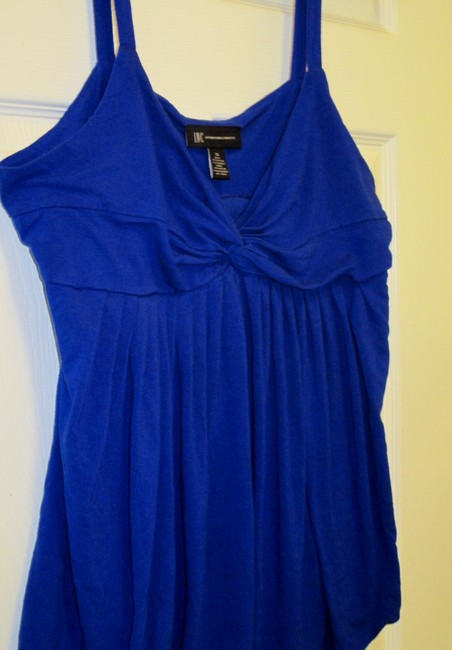 INC International Concepts Xl Summer Dress Top Blue