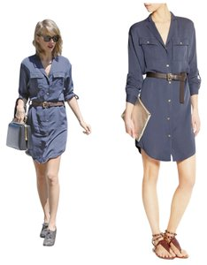 Michael Kors short dress Navy Taylor Swift Silk on Tradesy