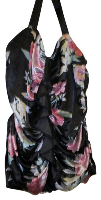 Torrid Z. Cavaricci 2x 18/20 Sexy Night Out Floral Halter Top