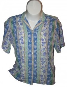 ALIA Button Down Shirt MULTI COLOR