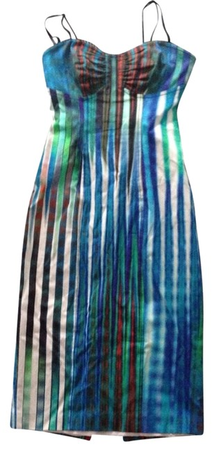Tracy Reese Bodycon Ikat Strapless Removable Sheath Dress