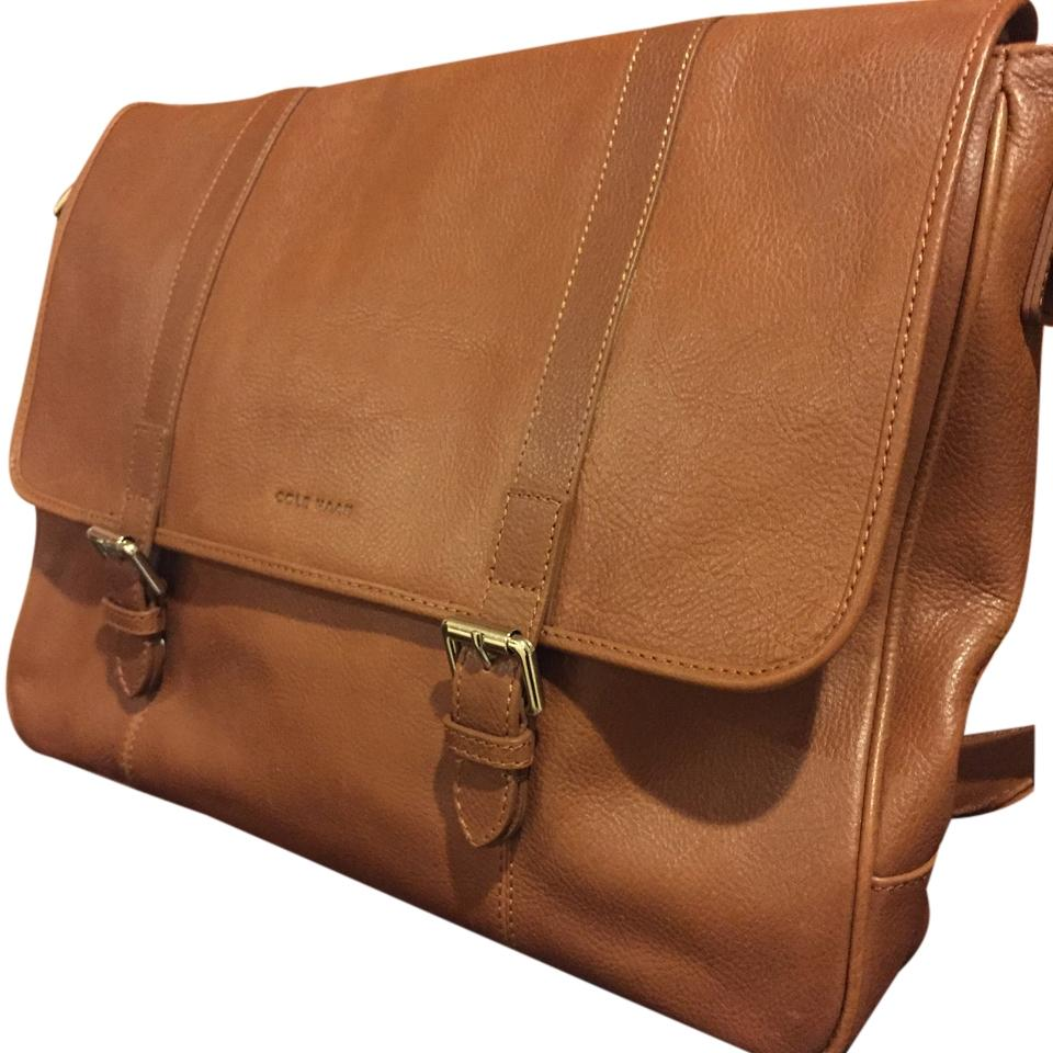 Cole Haan Tan Messenger Bag