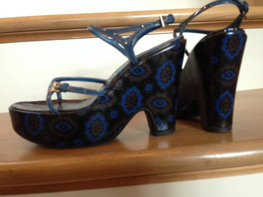 Prada Limited Edition Patent Leather Wedges