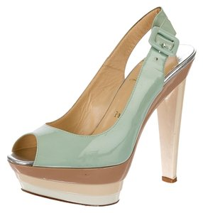Christian Louboutin Scarpe 123 Scarpe Heels Mint green Pumps