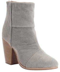 Rag & Bone Canvas Grey Boots