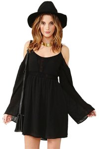 Honey Punch short dress Black on Tradesy