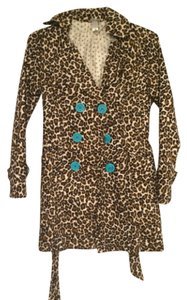 DownEast Basics Leopard print Jacket