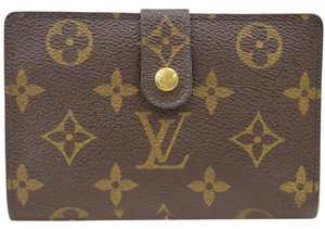 Louis Vuitton (GREAT CONDITION-SHIP TODAY) Authentic Bifold Kisslock Wallet Monogram PVC Mens