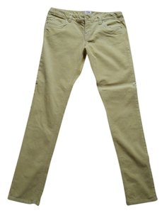 Mossimo Supply Co. Skinny Pants chartreuse