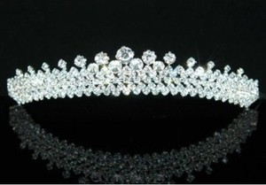 Dazzling Rhinestone Wedding Bridal Tiara Headband