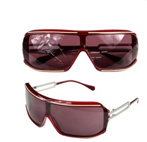 Marni Authentic Oxblood Marni Sunglasses -- super sophisticated and unique!