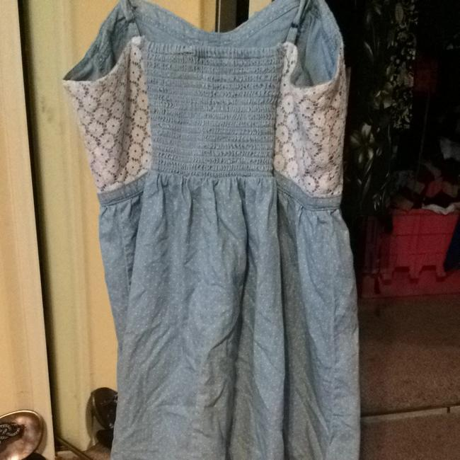 Candie's short dress Denim And Lace on Tradesy