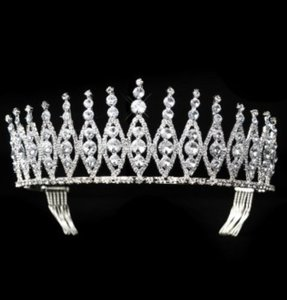 Niurka Rhinestone Wedding Quinceanera Sweet 16 Pageant Tiara