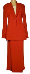 Lida Baday Lida Baday Red 2pc Blazer & Skirt Suit Size 12 14 from Bergdorf Goodman
