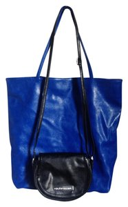 BCBGeneration Crossbody Tote in Blue/Black